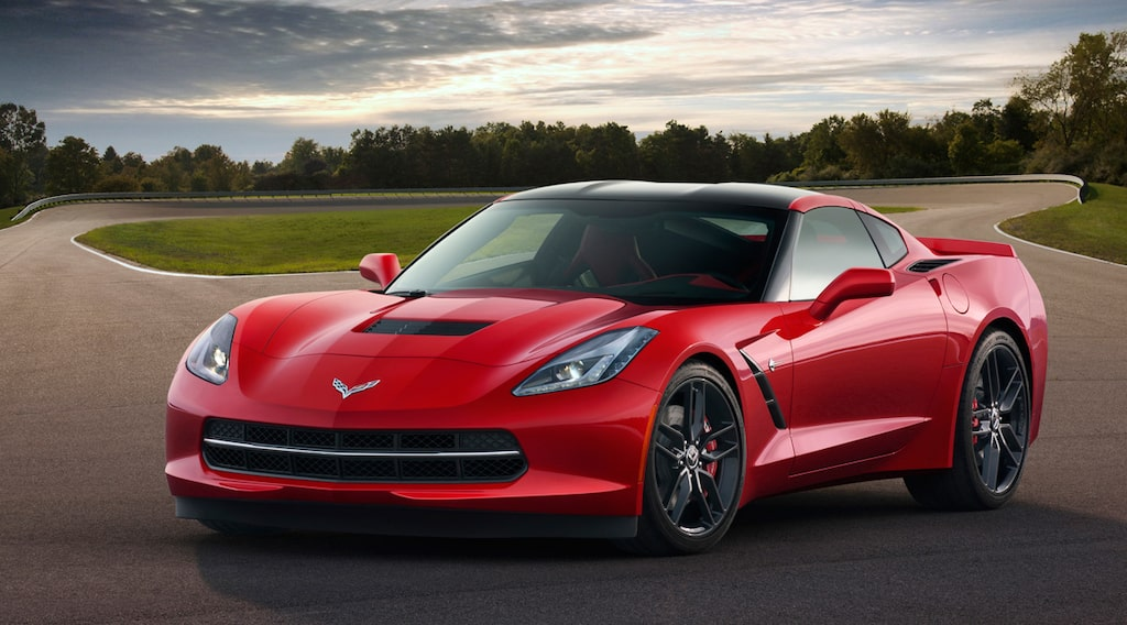 Nya Corvette Stingray 2014