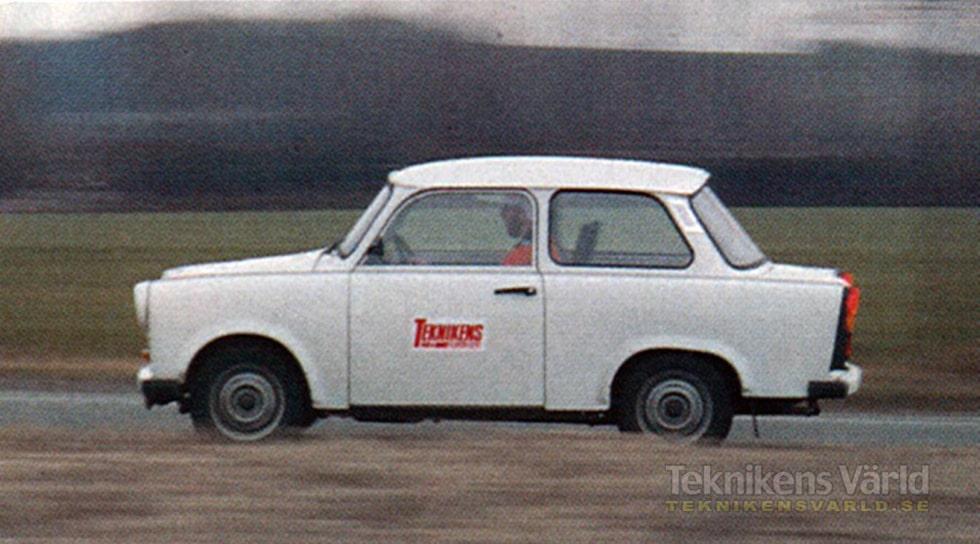Sachsenring Trabant 1,1 av årsmodell 1990