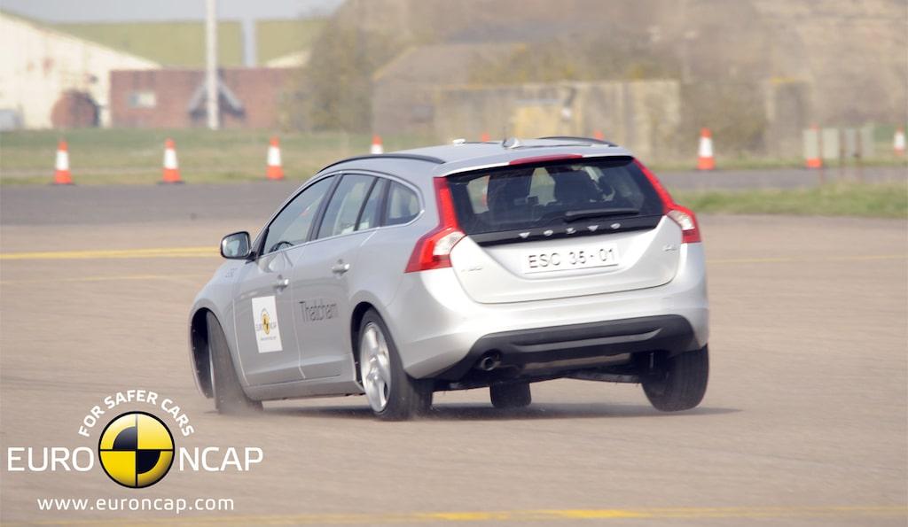 Volvo V60 Euro NCAP krocksäkerhet