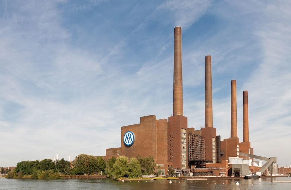 Volkswagens fabrik i Wolfsburg.