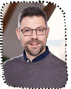 Philip Bäckmo, parterapeut och författare.