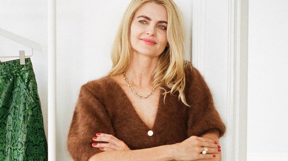 Designern och Gestuz-grundaren Sanne Sehested vill att hennes plagg ska framhäva kvinnors styrka.