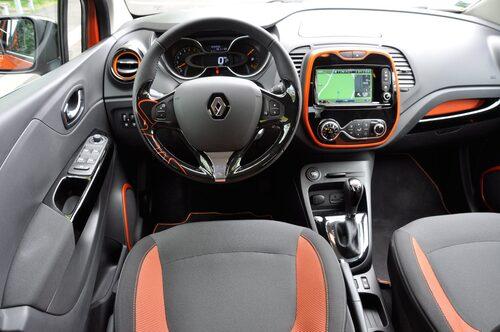 Dekoren i orange är ett av de individuella valen som köparen gör.