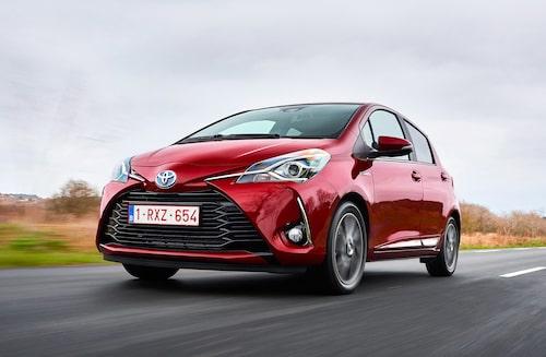 Småbilar och elektrifiering hjälper till att sänka koldioxidutsläppen.