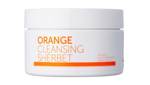 Orange cleansing sherbet, Aromatica.
