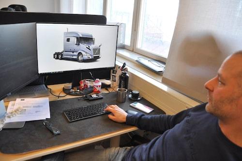 Rapid Images är företaget som bland annat har kunder som Volvo Cars och Volvo AB.