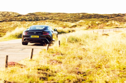 En Aston Martin är och förblir en exotisk produkt. I Sverige säljs märket genom bilföretaget Callisma i Danderyd.