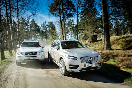 Volvo XC90 2014 och Volvo XC90 2015