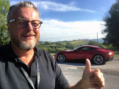 Hans Hedberg ger Ferrari Roma gott betyg.