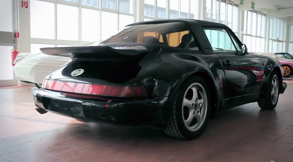 Porsche Boxster-mula 911 Targa Turbo