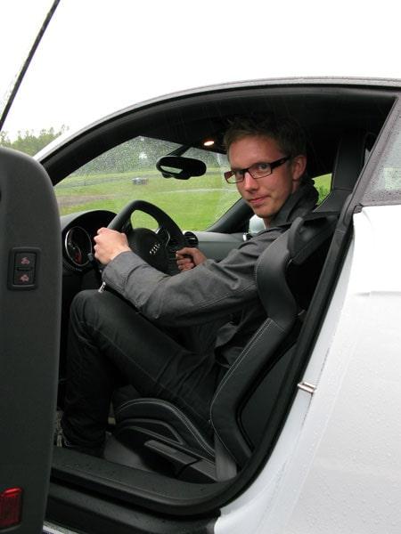 Erik Gustavsson torrbryter i TT RS.