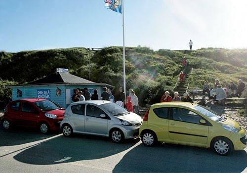 Provkörning av Citroën C1, Peugeot 107 och Toyota Aygo