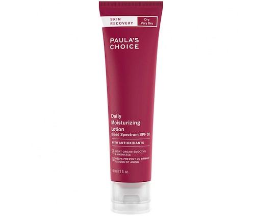 Recension av Skin recovery daily moisturizing lotion spf 30, 60 ml, Paula's Choice.