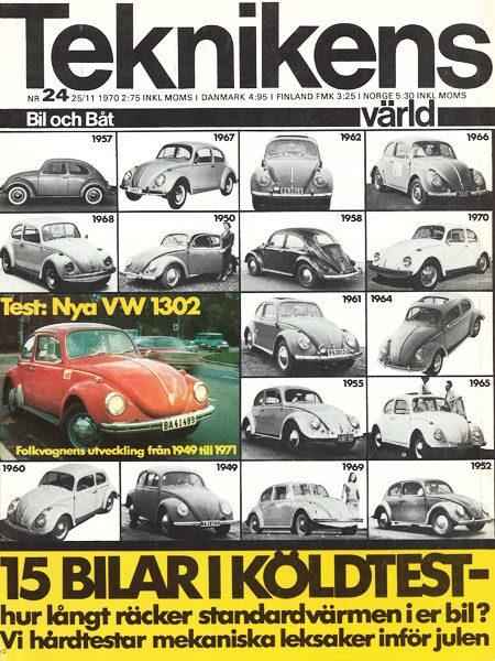 Teknikens Värld nummer 24 / 1970
