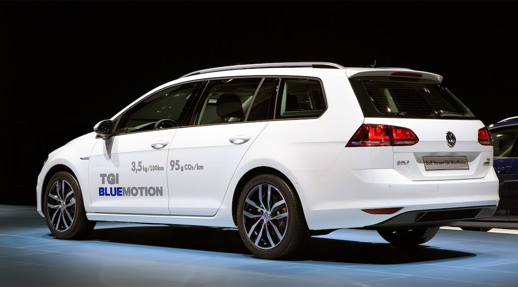 Volkswagen Golf Sportscombi TGI BlueMotion