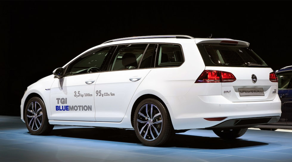 Volkswagen Golf Sportscombi TGI BlueMotion