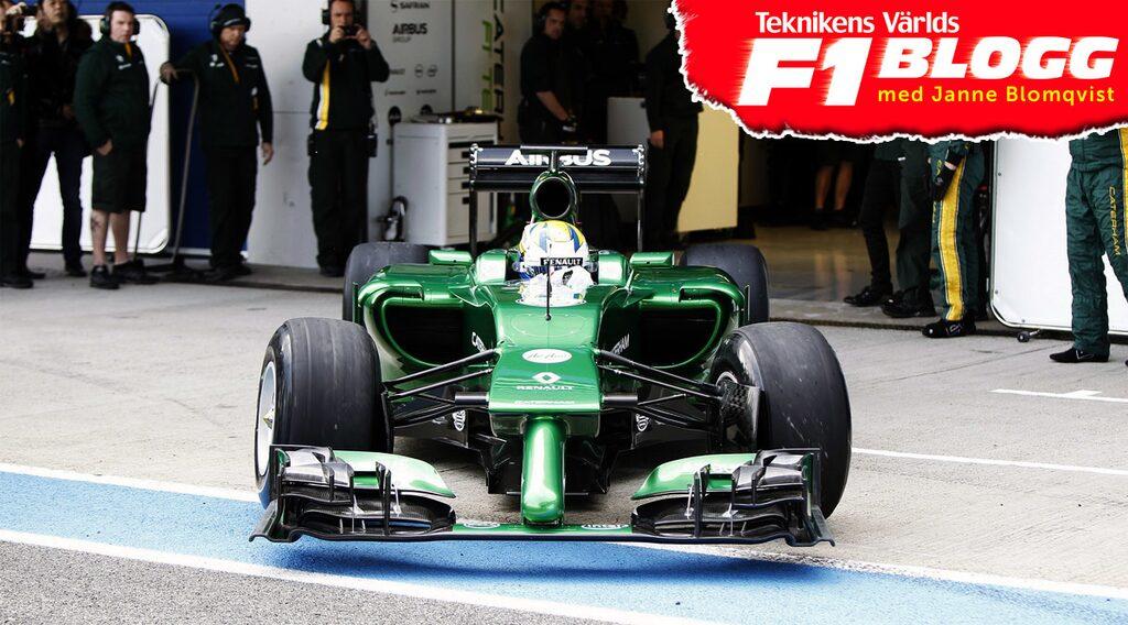 Marcus Ericsson, Caterham Formel 1
