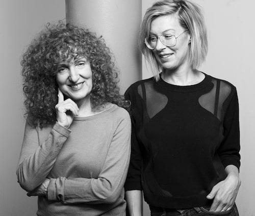 Daniella Gordon (t v) och Sofie Zettergren.