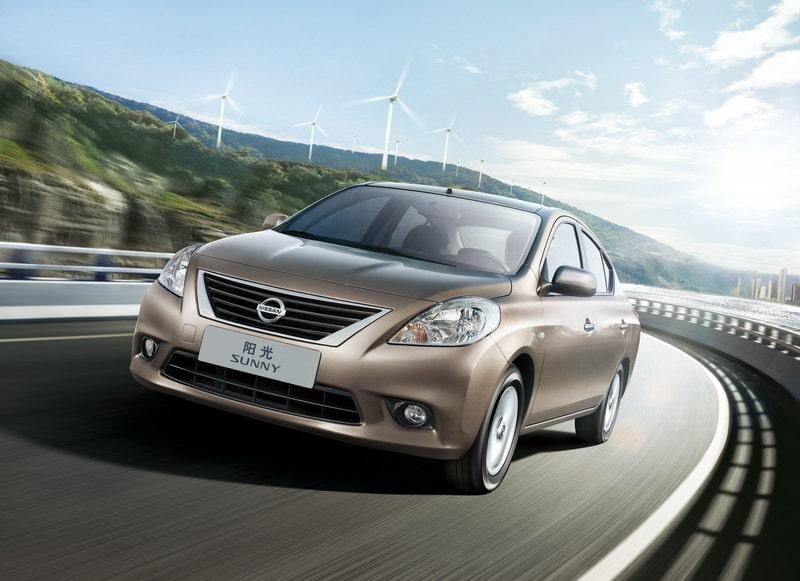 Nya Nissan Sunny