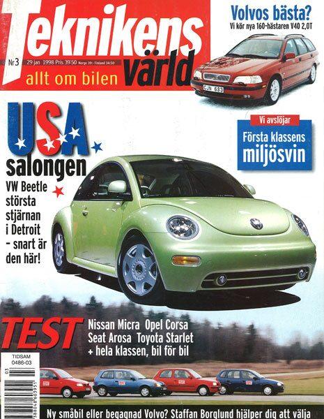 Teknikens Värld nummer 3 / 1998