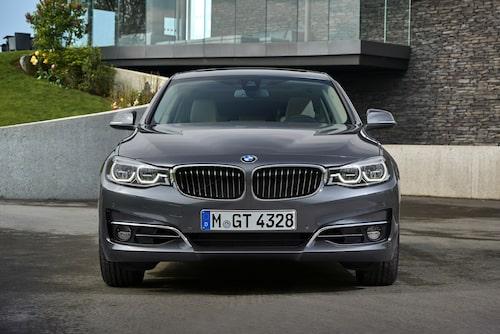 BMW 330i GT Luxury Arktikgrau