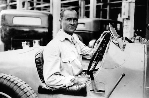 Mannen som har fått ge namn till Bugattis nya supersportbil: Louis Chiron.