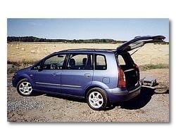 Provkörning av Mazda Premacy