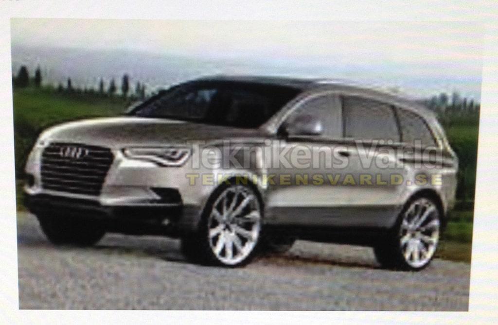 Kan denna Audi-suv vara nya Q7? Vi har våra tvivel.