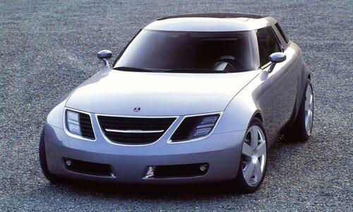 Saab 9X hyllades när den visades upp i Frankfurt 2001. Tyvärr fick Michael Mauer och vi andra inte se den gå vidare från konceptstadiet.