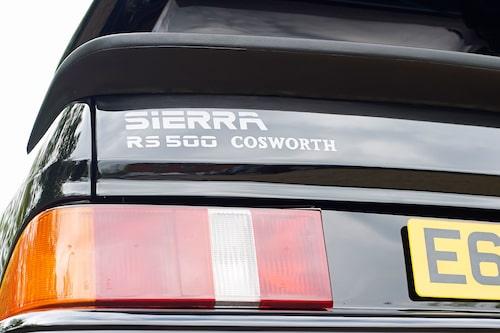Att hitta en Sierra RS 500 i strikt originalskick visar sig vara lättare sagt än gjort