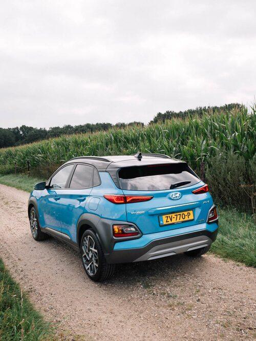Kona är nu en av få bilar som går att köpa med fyra olika drivsystem – bensin, diesel, el och hybrid.