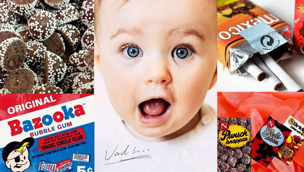 Rigi choklad, AKO-kola och Pop Rocks. Här är nostalgi- godiset som försvunnit ur hyllorna - men som vi fortfarande minns och älskar.