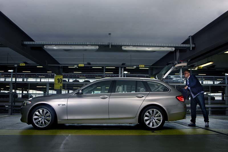 Provkörning av BMW 520d Touring