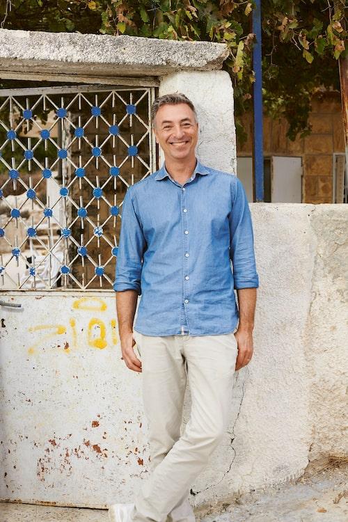 Tareq Taylor reste till Israel och Palestina med sin far och bror.