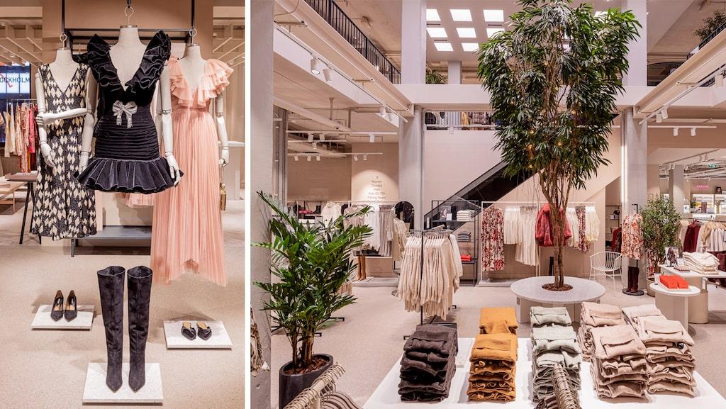 Hyr en klänning, få manikyr eller ät frukost på H&M's nya flaggskeppsbutik