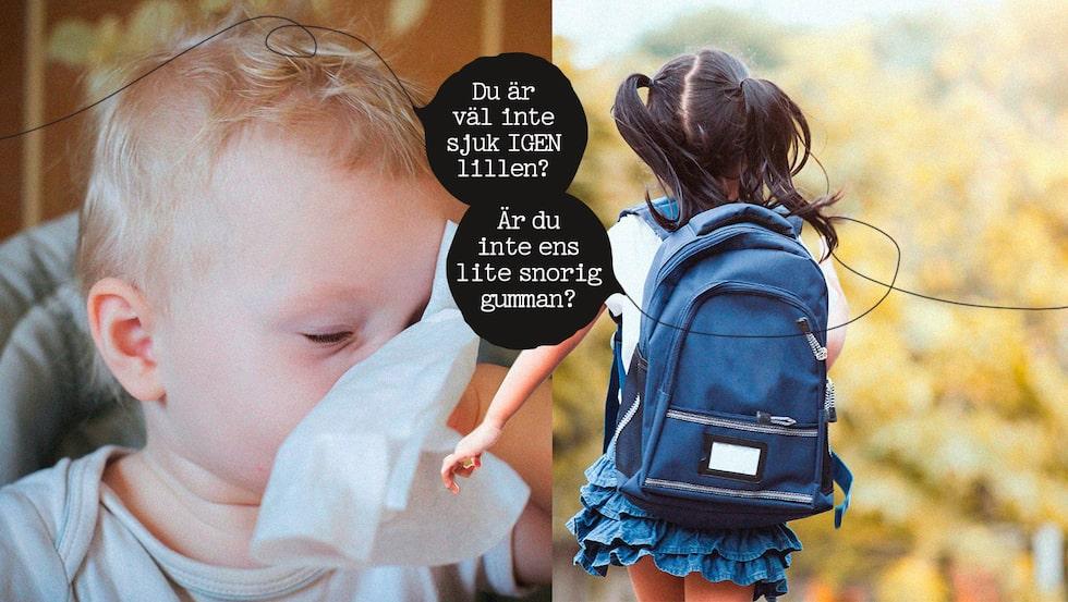 Vilka är skillnaderna mellan att ha förskolebarn och skolbarn? Knivlisa vet!