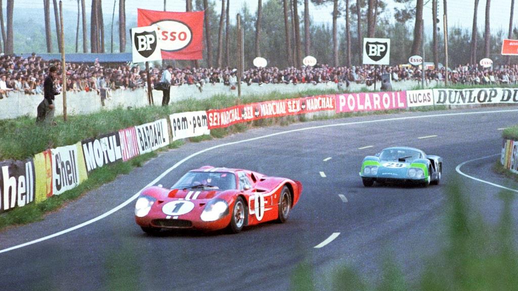 Ford MkIV vann Le Mans 1967, men var egentligen en helt annan bil med aluminiumchassi utan klockrena kopplingar till GT40.