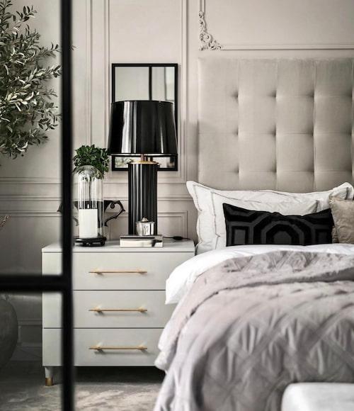 """""""Hotel-chic"""" hemma hos Åsa Ingrosso."""