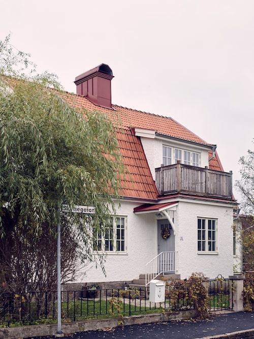 Maria och Martin såg potentialen i 1920-talshuset.