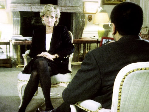 Prinsessan Diana i en tv-intervju med BBC 1995.