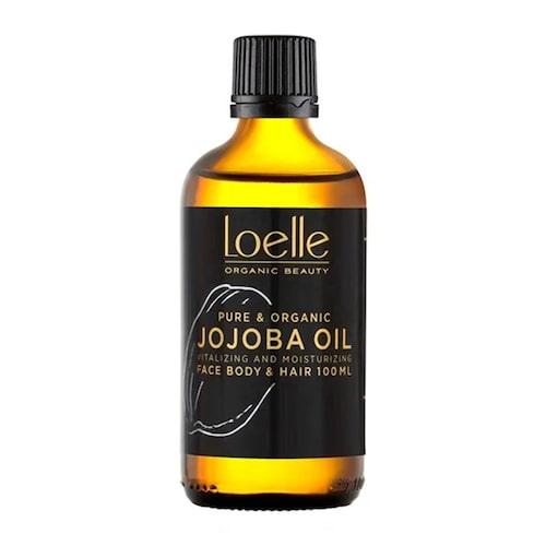 Jojoba Oil från Loelle är en kroppsolja som både återfuktar och skyddar.