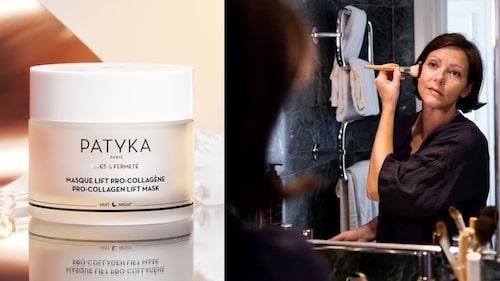 Patykas Pro-Collagen Lift Mask är en nattmask som återfuktar huden perfekt under vintern.