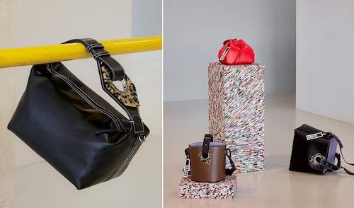 Gannis första kollektion med väskor består av fem pieces.