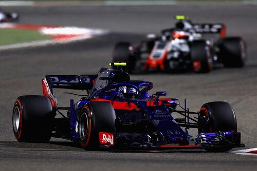 Pierre Gasly bästa Formel 1-resultat är en fjärdeplats under Bahrains Grand Prix i år.