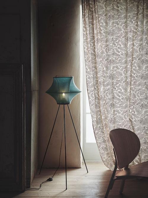 Fyxnäs lampa i turkos.