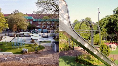 Besök Göteborgs lekplatser med familjen.