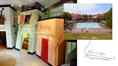 Låt barnen hälsa på Alfons eller bada mitt i Göteborg.