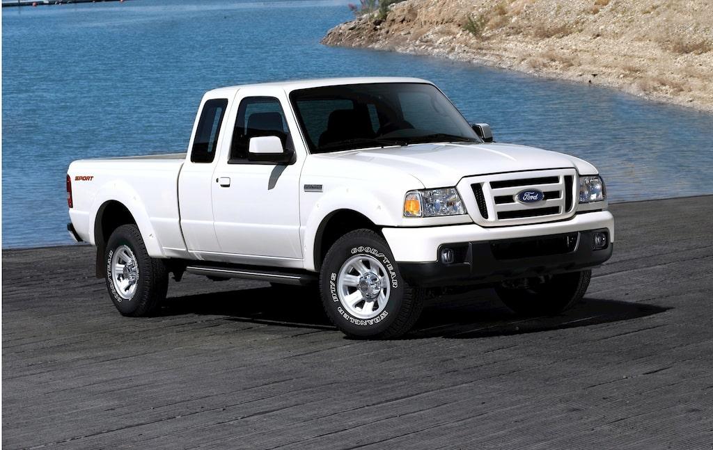 Provkörning av Ford Ranger 4+4 2,5 TDCI
