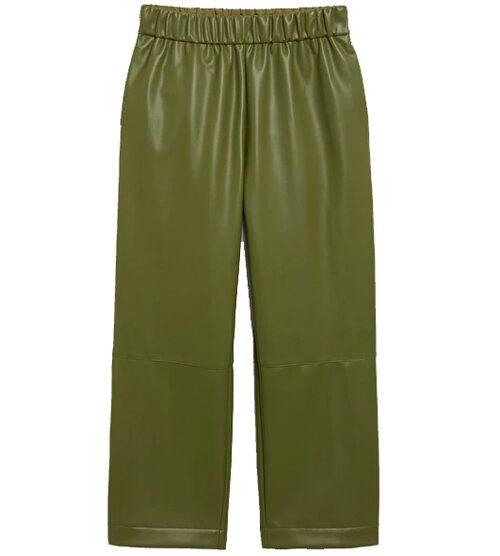 Gröna byxor i skinnimitation. från Monki.