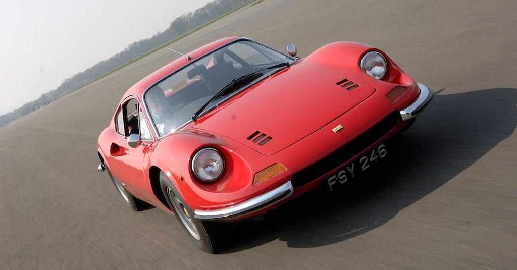 Dino 206 GT 1968-1969.
